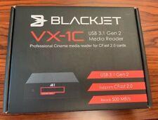 Brand New! Blackjet Usb3.1 Gen 2, Cfast 2.0 Reader - Vx-1C