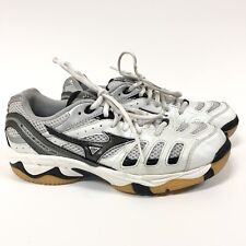 Mizuno Wave Rally Womens 8 Volleyball Shoes White B