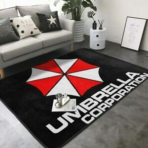 Resident Evil Umbrella Corporation Area Rug Living Room Bedroom Floor Mat Carpet