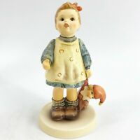 "Goebel Hummel ""Fascination"" #649/0 TMK7 Figurine 5"" Limited Edition Numbered Exc"