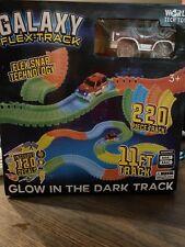 GALAXY FLEX - TRACK GLOW IN THE DARK 11 FT. 220 PIECE 120 DECALS WORLD TECH TOYS