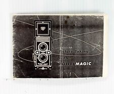 Photocopy of the Original Rolleiflex Rollei Magic Instruction Manual - 16 pages