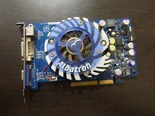 ALBATRON NVIDIA GE-FORCE 6600 GT 128 MB AGP GRAPHICS CARD RARE!