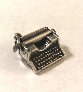 James Avery Typewriter Charm Rare & Retired Sterling Silver
