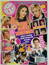 Pop Star Celeb Secrets Calendar Inside Who's Dating Feb 2015 FREE SHIPPING JB