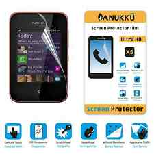 3x PELLICOLA per Nokia Asha 230 FRONTE + PANNO PROTETTIVA DISPLAY