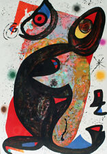 "Joan Miro       ""Onesime""     Lithograph on Paper            BA   MAKE OFFER"