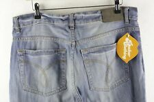 CK Mens CALVIN KLEIN Jeans STRAIGHT Fit BUTTON Fly W34 L34 VERY GOOD P80