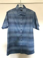 BHS blue patterned shirt in size S -NEW