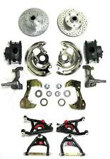 Camaro Firebird Front Disc Brake Conversion Kit + Tubular A-Arms Slotted Rotors