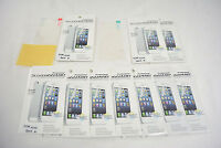 10 X Clear Front+Back Screen Cover Protector *FULL BODY* For APPLE iPhone 4 4S
