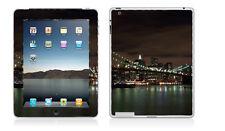 iPad 2 or 3 - New York Brooklyn Bridge Night Scene - Vinyl Skin Sticker Cover