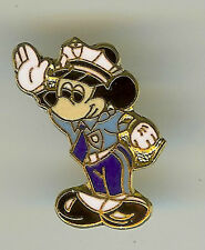 DISNEY 1990s MICKEY MOUSE POLICE SECURITY OFFICER CAST EXCLUSIVE OLDER WDW PIN