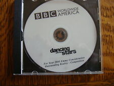 BBC DANCING WITH THE STARS PROMO EMMY DVD FINALE EPISOD MARIE OSMOND CELINE DION