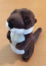 "The Petting Zoo Otter Plush 8"" from 1994"