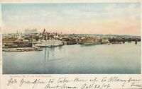 ALBANY NY – On the Hudson – udb – 1906
