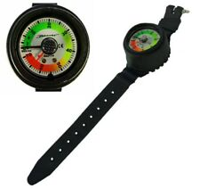 DIVERS 70 Metre DEPTH GAUGE in Smart WRIST Mount CONSOLE Holder with STRAP