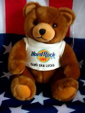 HRC Hard Rock Cafe Cabo San Lucas Classic Brown Bear ca 27cm 10`` Herrington