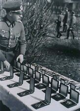 WW2 Photo WWII German Medal Ceremony Preperation  World War Two Wehrmacht / 2477