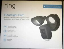 New listing Ring Floodlight Video Camera Motion-Activated Hd Security Cam 2-Way Talk, Siren