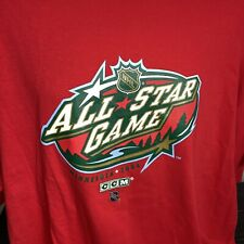 2004 NHL All Star Game T Shirt CCM Hockey Hosted by Minnesota Wild Mens XXL