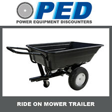 "Ride On Mower Trailer with large 8"" wheels and 4 ply tyres - SAVE $80.00"