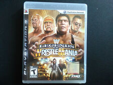 WWE Legends of WrestleMania PS3 Complete, Tested, Sanitized, Adult Owned