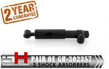 2 NEW REAR OIL SHOCK ABSORBERS FOR FIAT CINQUECENTO 170 SEICENTO 187 /GH-302357/