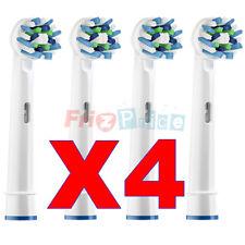 Testine ACTION CROSS 4 Spazzolino Ricambio Elettrico Compatibili Braun Oral B yl