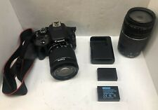 Canon Eos Rebel Sl1 18.0Mp Digital Slr Camera - with 18-55mm and 75-300mm lens