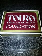 Touro Infirmary Foundation Playing Cards NEW SEALED PACKAGE Vintage Retro Gemaco