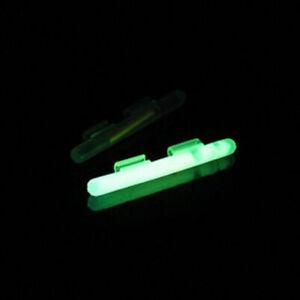 20Pcs Fishing Fluorescent Lightstick Light Night Float Rod Dark Glow Stick