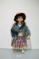 Puppe Sammler Sammlerpuppe Mädchen ca.58cm  (H440-6108-18-A35)