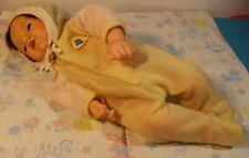 "12""  Baby doll Mattel Love N Touch Bare bottom sleeper Martha Armstrong Hand"