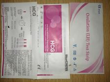 Buyer Recommended: 100 OEM Ovulation + 20 Bluecross Pregnancy Test Strips FDA