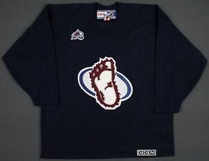 Colorado Avalanche Vintage CCM NHL Bigfoot Logo Jersey XL Practice Alternate