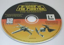 PC Star Wars X-Wing VS. Tie Fighter The Academy Working Disk Only R12834