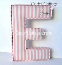 Fabric letters EX LARGE Wall Art Nursery name, personalised, girl, boy