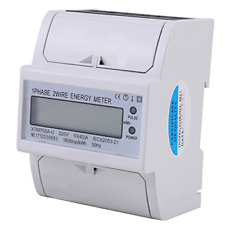 10-40A kWh Meter XTM75SA-U 220V Digital LCD Single Phase 4P DIN-Rail Electric