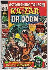 Astonishing Tales #8 VF 8.0 Ka-Zar Doctor Doom Gene Colan Art!