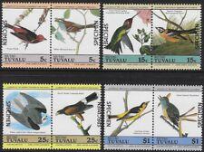 Tuvalu-Niutao 1984 Birds, Scott #25-28, SPECIMEN Pairs, CV$14.00- cw56.85