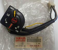 Genuine Yamaha Jog Cy50 Lever Holder Assembly 20g-w8291-31 Left Switch 1989-01