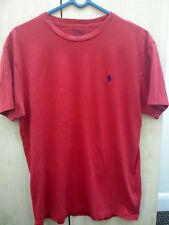 Polo Ralph Lauren Short Sleeve Red Men S Genuine
