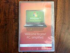 Windows 7 Home Premium 64-Bit Bootable Installation DVD CD w/SP1 NO PRODUCT KEY
