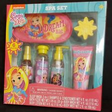 Nickelodeon Sunny Day Bath & Body Berry Scented Spa Set, 6 pieces Gift Set