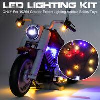 LED Light Lighting Kit ONLY For LEGO 10269 Creator Expert Lighting Vehicle Brick