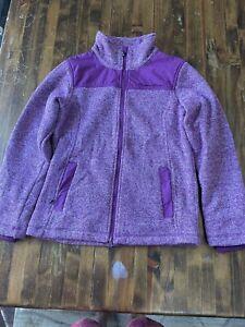 mountain horse women's fleece jacket Welsh size M purple