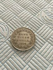More details for george 111 3 shill silver bank token 1814