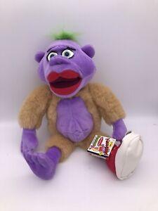 "New Jeff Dunham Peanut Plush Doll 19"" Woozle Talking 2003 Stuffed Toy WORKS"
