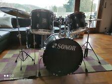 Sonor 503 Series Schlagzeug Drumset Meinl Becken New Sound Hardware Metallsnare
